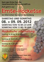 Ernte-Hocketse